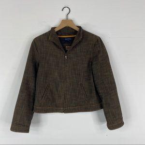 Adolfo Dominguez Women's Brown Jacket Size 40 (M)